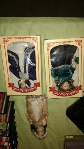 Lindas bonecas em porcelana novas