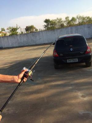 Pesca PESADA carretilha, vara, linha