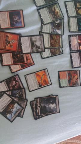 Vendo meu deck de magic the gathering