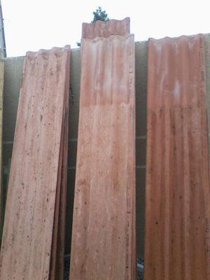 7 Caibro de Pinus 2x4 + 10 tábuas de Pinus de