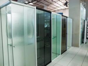 Box de vidro m² instalação imediata gratis 2 porta