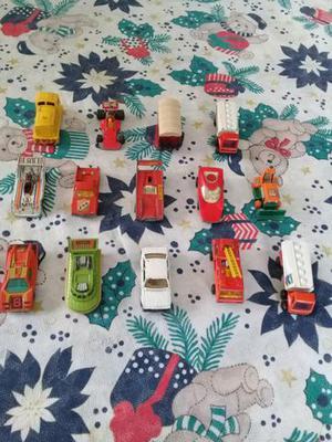 Carrinhos matchbox coleção anos 70