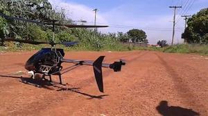 Helicoptero gigante eletrico com controle remoto