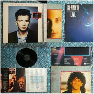 LPs Kenny G & Rick Astley