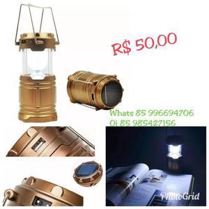 Lampião Lanterna Tática Camping ACEITO CARTÃO