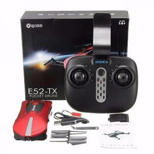 Mini Drone De Bolso Com Câmera E52-tx Pocket Drone -
