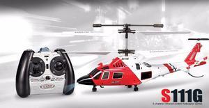 Mini Helicóptero R/C Syma S111G - com 3 Canais e Gyro