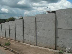 Muro prefabricado placas