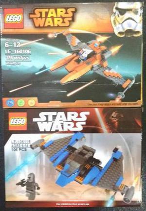 Naves star Wars lego varios modelos na caixa