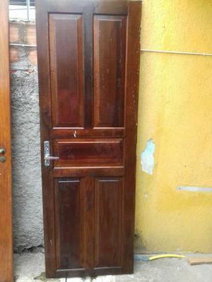 Porta madeira maciça 210 x 70