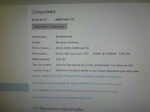 Computador Megaware - CPU + Monitor + Teclado e Mouse