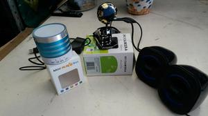 Kit Mini Camera + caixa de música + Mini box music