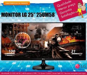 """Monitor LG 25"""" Full HD IPS Ultrawide 25UM58-P"""