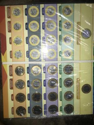 Coleção completa das olimpíadas