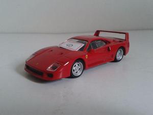 Miniatura Ferrari F40 escala 1/43 Hot Wheels
