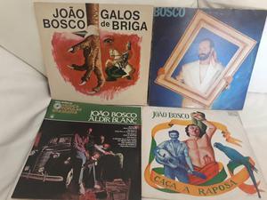 Vendo 4 LPs de João Bosco