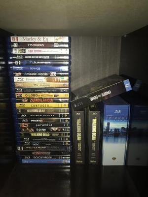 Box coleções de filmes e séries em Bluray
