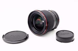 Lente Canon FD 24mm 1:1.4L