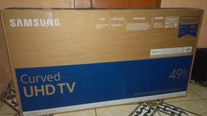 Tv Samsung Curvada 4k Smart Com Nota Fiscal