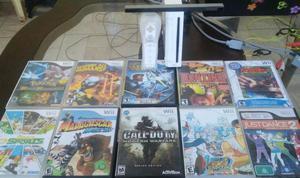 Nintendo WII + Playstation 2 (inclui controle e Diversos