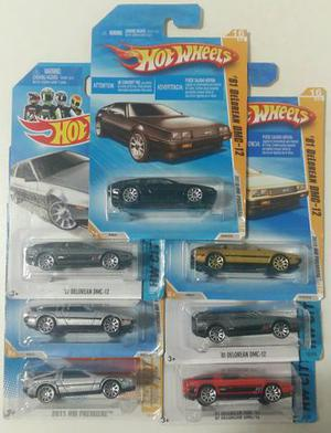 Hot wheels Set Delorean