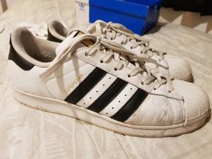 Adidas Superstars Foundation 41 Usado Origi Em Bom Estado.