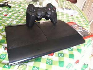 PlayStation 3 (Ps3) Super Slim, 250GB, Jogo MidNightClub LA,