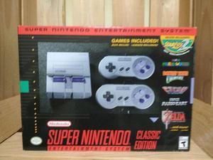 Super nintendo mini SNES classic edition 190 games