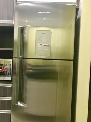 Geladeira Brastemp Inox 2 Portas INOX Frost Free 429 Litros
