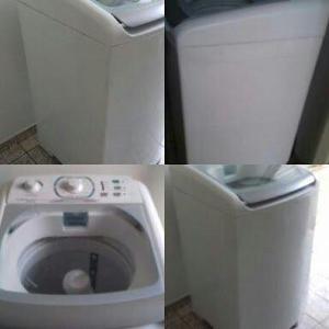 Máquina de lavar 8 kilos electrolux semi nova