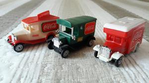 Coleção de caminhões Coca Cola anos 80