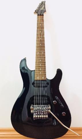Guitarra Ibanez 7 Cordas S Preta + Bag Ibanez