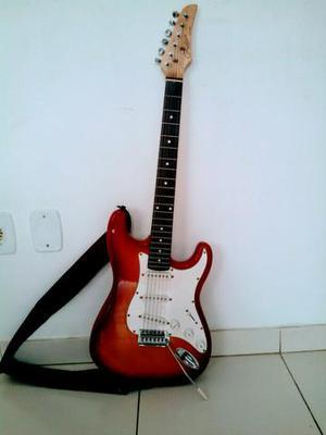 Guitarra semi-nova vendo ou troco por ps3 ou xbox360