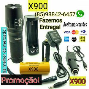 Lanterna X900 a mais potente do mercado. Entrega GRÁTIS!