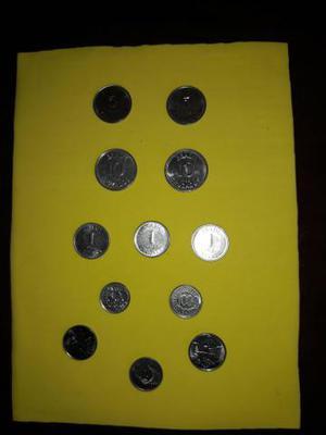 Lote com 12 moedas antigas