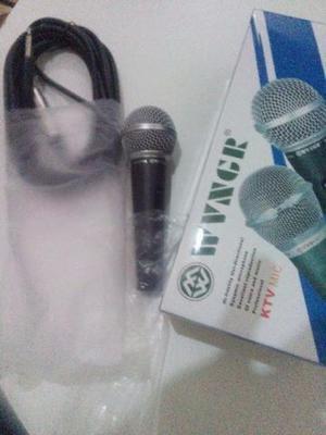 Microfone Profissional Especial Com Fio Dinâmico