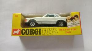 Miniatura do carro marca Mercedes bens 350 SL corgitoys