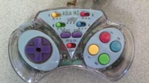 Controle Transparante para Super Nintendo - Snes Aquapad
