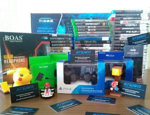 Jogos para PS3, PS4 e X-BOX ONE.