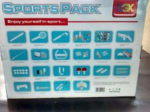 Wii kit com 68 peças Para Nintendo Wii e Wii U 68x1 (68