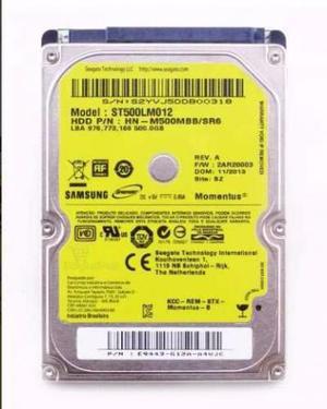 Disco Rigido HD 500GB Notebook - Samsung