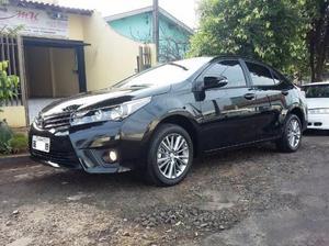 Toyota Corolla XEI , câmbio CVT, preto, baixo