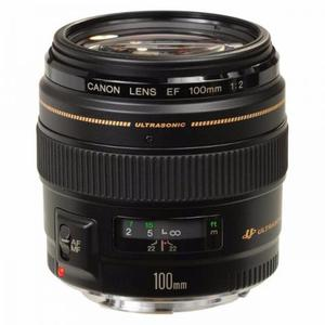 Lente Canon EF 100mm f2 USM