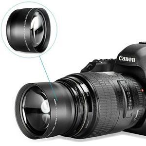 Vendo lente para Nikon e Canon, que aproxima 2x os objetos.
