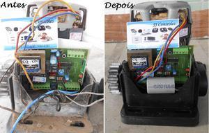 Conserto e manutenção de motor de portão