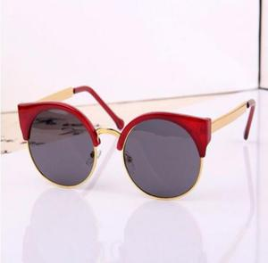 Óculos de Sol Club Round UV400 Feminino Redondo
