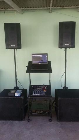 Sonorização kit de som completo