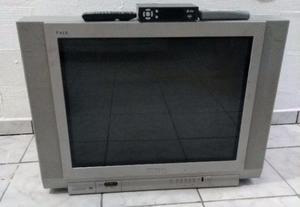Tv Toshiba tubo tela plana 29 pol + conversor