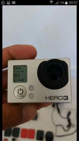 Vendo GoPro Hero 3 com todos acessórios