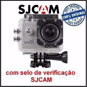 Câmera SJCAM Sjmp p Hd Original + Kit